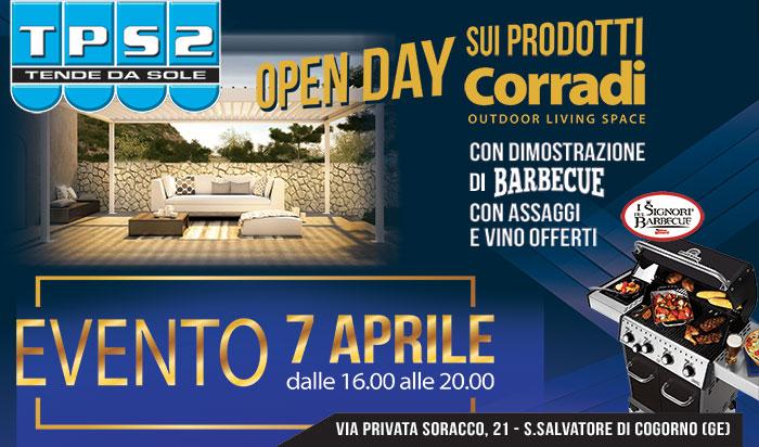 tps2 open day Corradi con dimostrazione barbecue